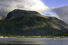 Nevis from corpach Royalty Free Stock Photos