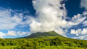 Nevis Peak Royalty Free Stock Photos
