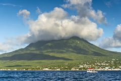 Nevis Peak Stock Photography
