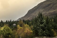 Nevis Range attractions. stock photography