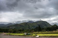 Nevis Range, Scotland royalty free stock image