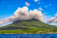 Nevis Volcanic Island Royalty Free Stock Photos