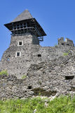 Nevitsky Castle ruins. Built in 13th century. Ukraine Royalty Free Stock Image
