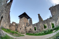 Kasztel w wiosce Nevicke, Ukraina fotografia royalty free