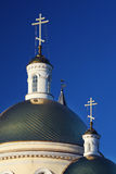 Nevjansk cathedral classicism style. Russia Royalty Free Stock Photos