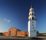 Nevjansky falling tower of XVIII century Stock Photos