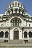 nevski церков Александра монументальное правоверное Стоковые Изображения
