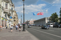 Nevskiy prospekt royalty free stock photo