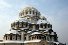 nevsky亚历山大的大教堂 免版税图库摄影