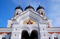 nevsky亚历山大的大教堂 库存照片