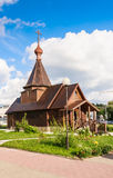 nevsky亚历山大的教会 维帖布斯克 迟来的 免版税库存图片