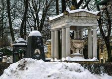nevsky亚历山大的lavra 库存图片