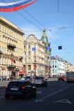 nevsky святой России перспективности petersburg стоковые изображения