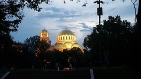 nevsky alexander domkyrka Royaltyfri Bild