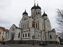 nevsky Alexander katedra zdjęcia royalty free