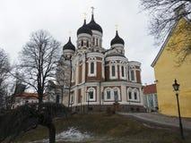 nevsky Alexander katedra zdjęcia stock