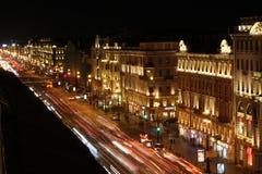 Nevsky aveny Royaltyfria Bilder