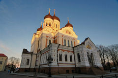 Nevsky Cathedral Stock Photos