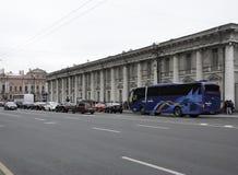 Nevsky perspektywa Obraz Royalty Free