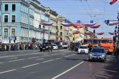 Nevsky Prospect, Saint Petersburg, Russia Stock Photos