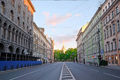 Nevsky Prospect in St. Petersburg Royalty Free Stock Photos