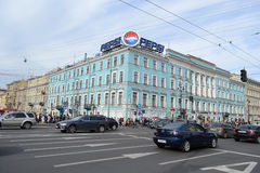 Nevsky Prospect. Royalty Free Stock Photos