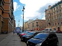 Nevsky Prospect in the summer Stock Photography