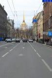 Nevsky prospect Royalty Free Stock Photo