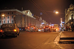 Nevsky Prospekt night Stock Photo