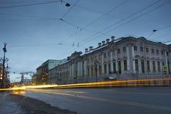 Nevsky Prospekt , St. Petersburg, Russia Royalty Free Stock Photo