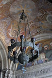 nevsky st för alexander domkyrkaljuskrona Arkivfoto