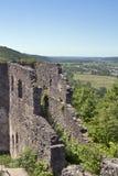 Nevytsky Castle. Walls of Nevytsky Castle built in 13th century. Zakarpattia Oblast, Ukraine Royalty Free Stock Photos