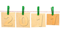New 2011 year Stock Image
