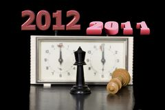 New 2012 comes Stock Image