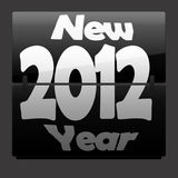 New 2012 Year. Happy New Year Stock Image