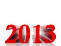 New 2013 year. Card. High resolution image. 3d rendered illustration vector illustration