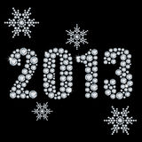 New 2013 year Stock Photography