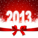 New 2013 year. Greeting card Stock Images