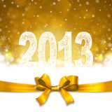 New 2013 year. Greeting card Royalty Free Stock Photos