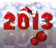 New 2013 Year Background Stock Photography