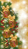 New 2013 Year banner. Vector illustration Royalty Free Stock Photography