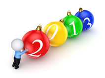 New 2013 year concept. Royalty Free Stock Photos