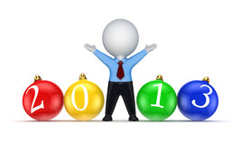 New 2013 year concept. Royalty Free Stock Images