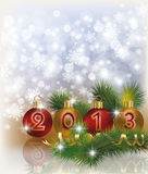 New 2013 Year greeting background. Vector Royalty Free Stock Photos