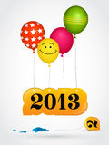 New 2013 year greeting card. In Stock Image