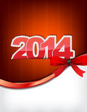New 2014 Year Greeting Card Stock Images