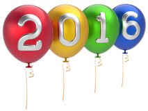 Free New 2016 Years Eve Party Balloons Christmas Decoration Stock Photo - 60572790
