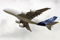 New A380 Super Jumbo Royalty Free Stock Photo