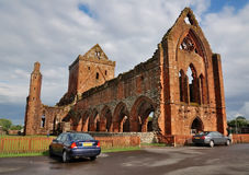 New Abbey, Scotland Stock Photo