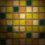 Illusion squares Royalty Free Stock Photography